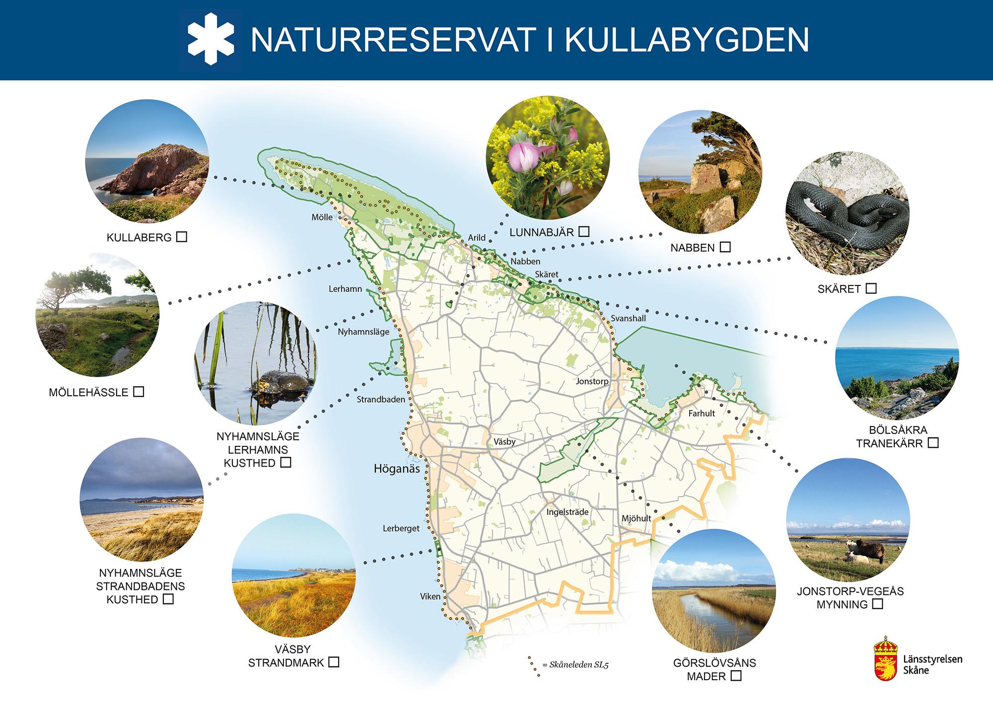 Naturreservaten i Kullabygden
