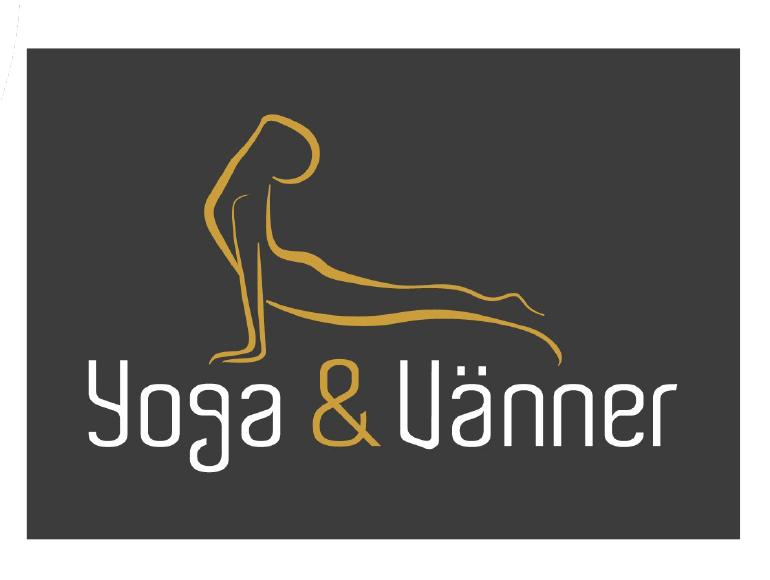 Logga Yoga och Vänner